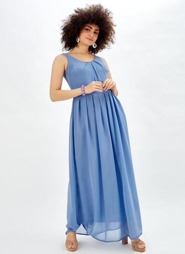 Sense Elbise Mavi